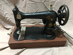1888 Vintage Singer Model Vs2 Fiddle Base Hand Crank Sewing Machine With Extras