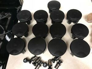 13 Total Cup Holder With Lids all Are Oem Orginals 8 Car Lighters