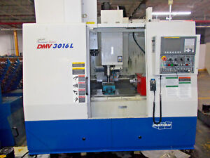 Doosan Daewoo 3016l Cnc Vertical Machining Center 2007
