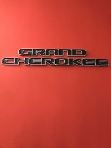 14 15 16 17 18 Jeep Grand Cherokee Side Chrome Emblem Badge Symbol Logo Oem 2016