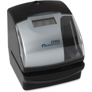Acroprint Es900 Electronic Stamp time Recorder 01 0209 000