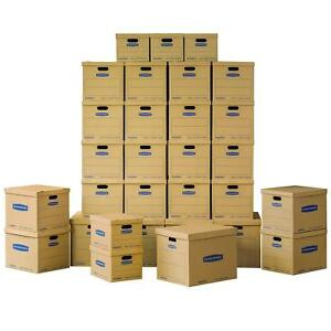 Moving Kit Boxes Tape free Assembly 5 Small 20 Medium 5 Large 30 Pack