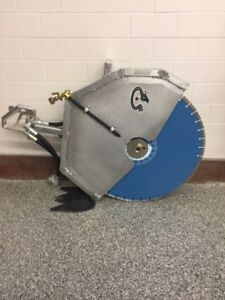 Hydraulic Concrete Saw Takes 24 To 26 Blade Blade Not Included