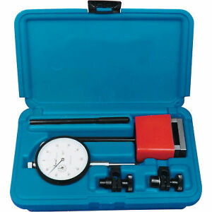 Central Tool Dial Indicator Set W magnet 6410