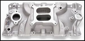 Edelbrock Eps Performer Intake Manifold For Sbc Chevy 2701