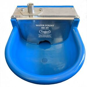 Trojan Bb09 Automatic Waterer Stainless Steel And Nylon Stall Waterer