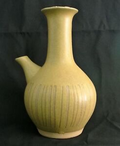 Mcm Gordon Jane Martz Marshall Studios Pottery Incised Coffee Server Carafe