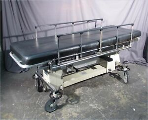 Stryker Surgi bed 960 2 Stretcher Raises lowers tilts brakes
