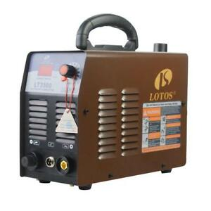 Lotos 35 Amp Compact Inverter Plasma Cutter Digital For Metal 2 5 Inch Clean Cut