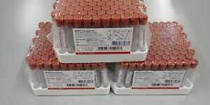Bd Vacutainer Serum Blood Collection Tubes red Top 10ml 3 Packs Exp 05 19