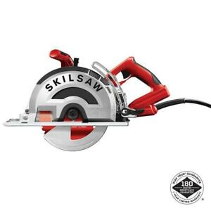 Skilsaw 8 In Worm Drive Saw Metal 42 Tooth Diablo Blade 15 Amp Corded Electric