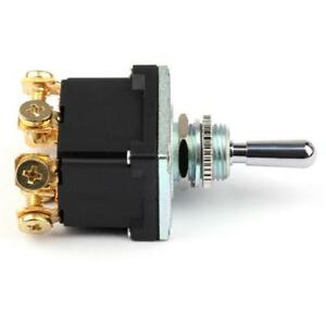 6pct500 On Off Waterproof Toggle Switch With T Terminals On off 2pins 2position