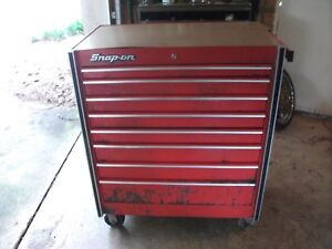 83 Vintage Snap On Tool Box Chest