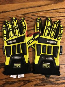 Impact Gloves Ringers Gloves Roughneck Supercuff Tefloc Heavy Duty 2xl New Nwot
