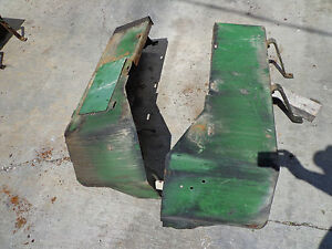 John Deere 5010 5020 6030 Battery Box And Toolbox Nice Set