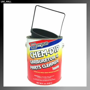 Berryman New 0996 Chem dip Carburetor And Parts Cleaner 96 Oz Can With Basket