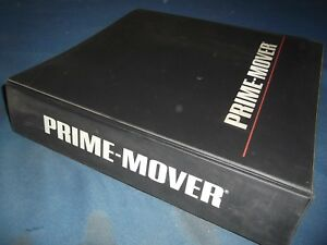 Prime Mover Rr 30b Reach Truck Forklift Service Shop Repair Workshop Manual
