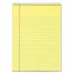 Tops Docket Wirebound Legal Writing Pad 70 Sheet 16 Lb Letter 8 50 X 11