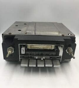 Vintage Gm Delco Am fm Cassette Car Stereo Radio 16008160 Missing 2 Frt Buttons
