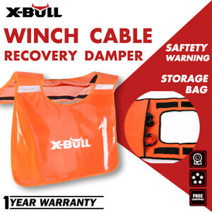 X Bull Winch Damper Cable Cushion 4x4 Recovery Safety Blanket Car Off Road
