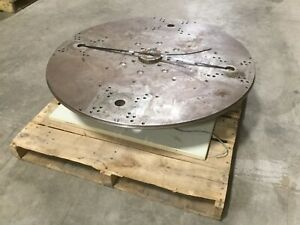 Graham 42 200 Rotary Index Table Hydraulically Driven Turn Table W Dial Plate