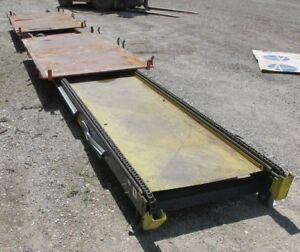 Wooden Pallet Plastic Tote Index Table Conveyor Slide Feeder 3651isu