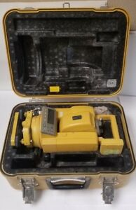 Topcon Gts 211d Electronic Total Station Transit With Case