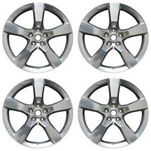 Chevrolet Camaro 2010 2014 20 Factory Oem Staggered Wheels Rims Set