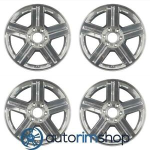 Chevrolet Trailblazer 2007 2009 18 Factory Oem Wheels Rims Set
