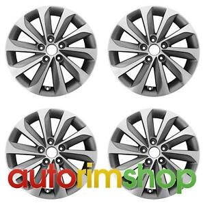 Hyundai Sonata 2014 17 Factory Oem Wheels Rims Set