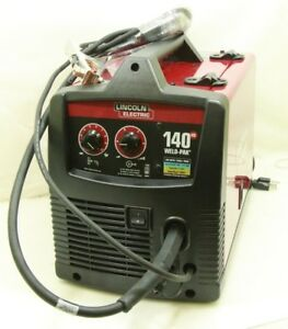 Lincoln Electric S25940 140 Amp Weld Pak 140 Hd Mig Wire Feed Welder Free Ship