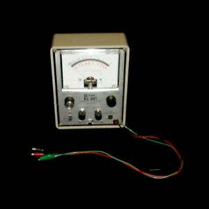 Knight Kg 691 Transistor diode Tester W 3 Attached Testing Leads