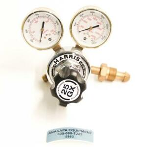 Harris 25gx 145 650l Cga 580 Compressed Gas Regulator W Dual Gauges 5863