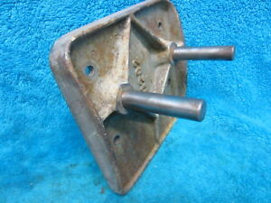 Original Vintage Buffalo Usa 15 Drill Press Motor Mount Plate Assembly 11202