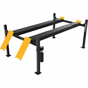 Dannmar 4 post Truck And Car Lift 12 000 lb Capacity Model 1375682
