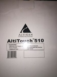 Altigen Altitouch 510 Office Phone With Handset New In Box