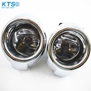 Clear Lens Driving Fog Lights Bumper Lamps Bulbs For 2012 2013 2014 Ford Focus