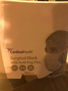 Cardinal Health At72835 Surgical Mask With Anti fog Adhesive Level 1 Qty 300