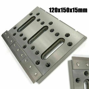 1x Wire Edm Fixture Board Stainless Jig Tool For Clamping And Leveling Part