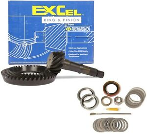 Gm 8 875 Chevy 12 Bolt Car 3 55 Ring And Pinion Mini Install Excel Gear Pkg