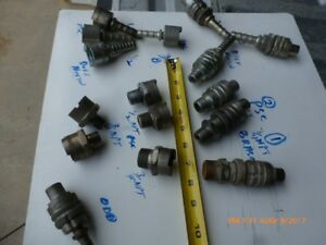 Lot Of 19 dixon Bowes Duff Norton Psc Style Quick Coupling Series N Air Hose