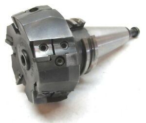 Pyh 3 1 4 Indexable Face Mill W Cat40 Shank sp 4080r