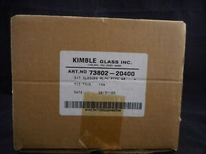 Kimble Plastic 20 400 Phenolic Cap W Ptfe faced White Rubber Liner 73802 20400