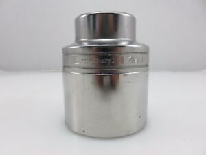 Snap on Ldh602 3 4 Dr 12pt 1 7 8 Socket Chrome Made In Usa