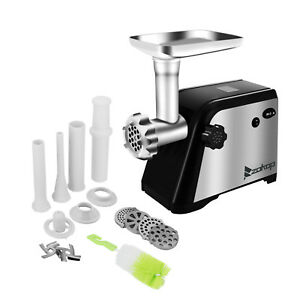 Electric Meat Grinder 2 Speed Turboforce 3000 With Stuffer