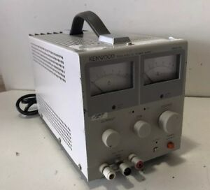 Kenwood Pr18 5a Regulated Dc Power Supply 0 18 Volts 0 5 Amps