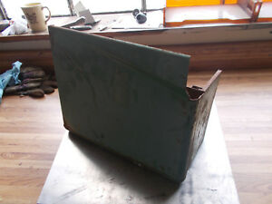 Vintage John Deere M Battery Cover Left Side With Tool Box
