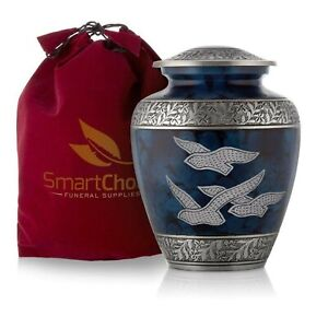 Smartchoice Royal Cremation Urn For Human Ashes Affordable Funeral Urn Adul