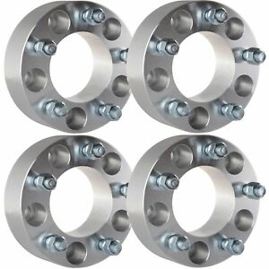 4pc 2 Thick 5x5 5x127mm 1 2 Studs Wheel Spacers For 2006 2010 Jeep Commander