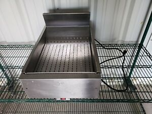 Merco Ffhs 16 Fried Food Holding Station Heated Fry Warmer Dump Commercial